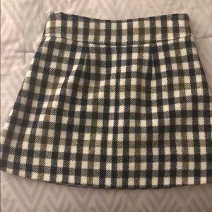 J. Crew Skirts - I Crew Wool Mini skirt